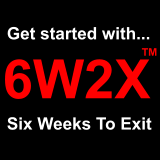 6W2X: Six Weeks to Exit logo
